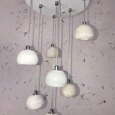 لوستر سنگ مرمر LED