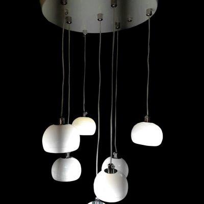 لوستر LED كريستالی