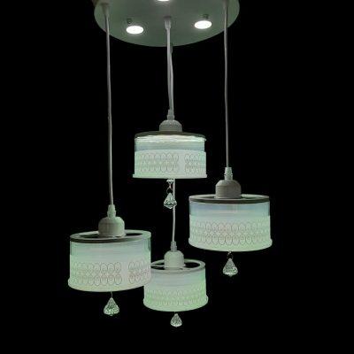 لوستر LED ساخته شده از سنگ مرمر