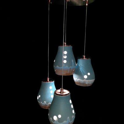 فروش لوستر LED سراميكی