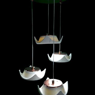 لوستر LED سراميكی