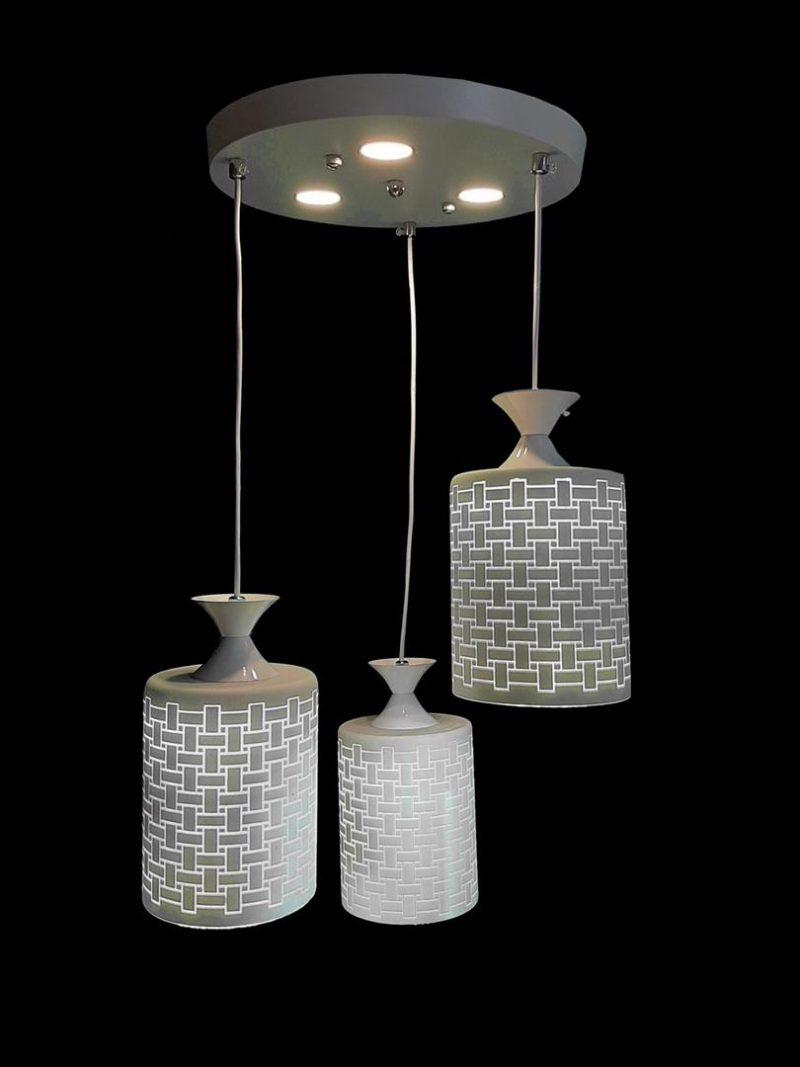 لوستر LED حباب جيوه ای