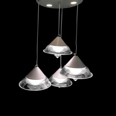 لوستر LED چتری