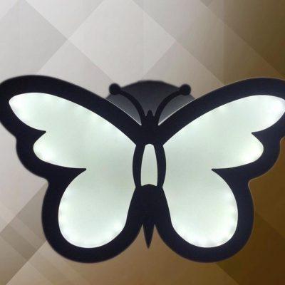 دیواری طرح پروانه