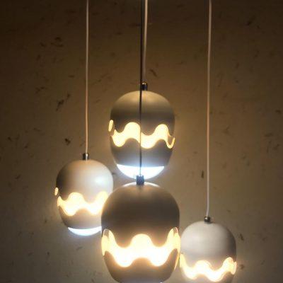 لوستر LED - چهار شاخه، طرح 4
