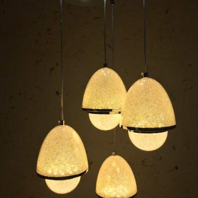 لوستر LED - چهار شاخه