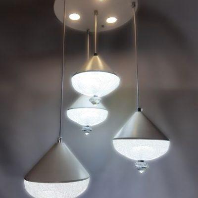 فروش لوستر LED - چهار شاخه، طرح 6
